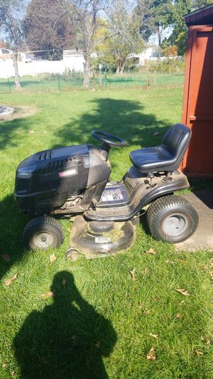 Craftsman riding lawnmower lt2000 for Sale in East Hartford, CT