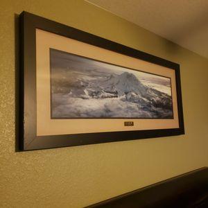 Mt Rainer Photo Framed for Sale in Las Vegas, NV