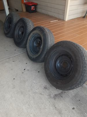 15 inch wheels tires for Sale in Dallas, TX