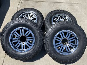 17in 8 Lug Rims & BF Goodrich All-Terrain tires for Sale in HILLTOP MALL, CA