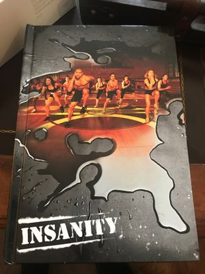 Insanity Workout Plan(All 10 CD's and Nutrition Guide) for Sale in Canonsburg, PA