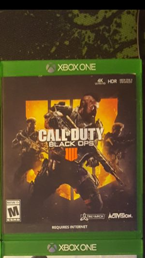 Black Ops 4 Xbox One shipping only for Sale in North Miami Beach, FL