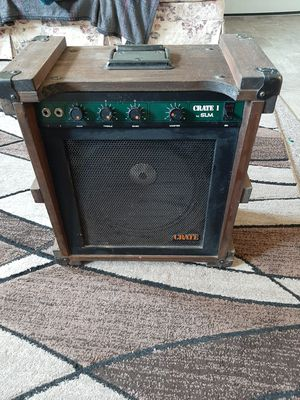 1971 crate cr1 by SLM tubed guitar amp for Sale in Centreville, MI