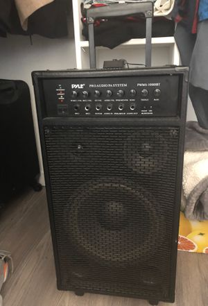 PYLE pro audio speaker for Sale in Los Angeles, CA