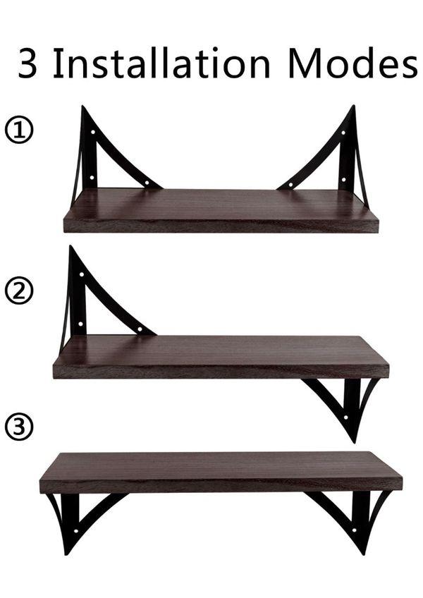 3 Pack Floating Shelves NEW