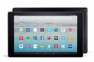 """Fire HD 10 Tablet with Alexa Hands-Free, 10.1"""" 1080p Full HD Display, 32 GB, Punch Red for Sale in Newport Beach, CA"""