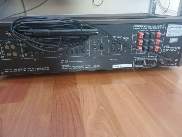 CRAIG Vintage Integrated Stereo Receiver