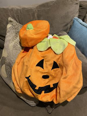 Pumpkin Halloween costume ages 1 to 2 years old for Sale in Alpharetta, GA