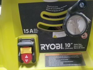 """Ryobi 10"""" 15A table saw with stand for Sale in Encinitas, CA"""