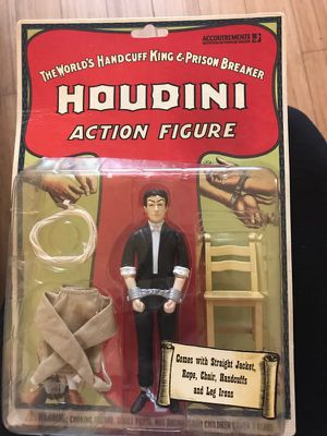 Houdini Collectible Action Figure for Sale in Los Angeles, CA