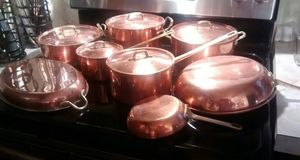Copper pots for Sale in Elizabeth City, NC