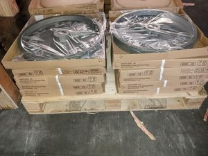 "SET OF 255 LBS OF OLYMPIC 2"" INCHES CAST IRON PLATES for Sale in Anaheim, CA"