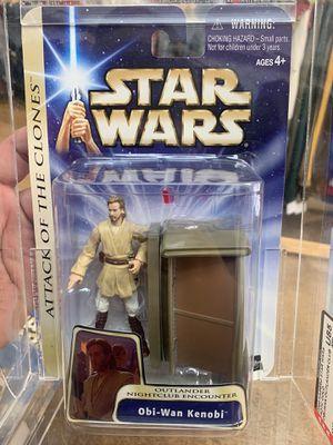 03 Hasbro Attack Of The Clones Obi-Wan Kenobi action figure GRADED for Sale in Stockton, CA