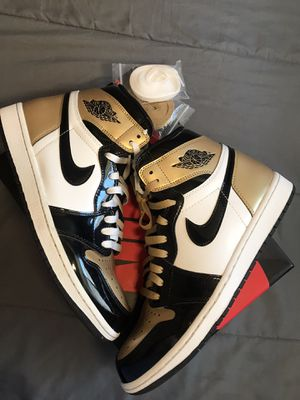 Jordan 1 'Gold Toes' size 10 for Sale in Socorro, TX