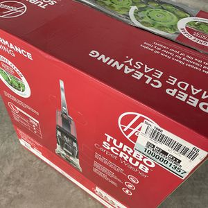 Hoover Turbo Scrub Carpet Washer with Heater for Sale in Houston, TX