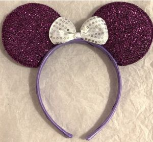 Purple Mickey ears for adults and kids for Sale in Holiday, FL