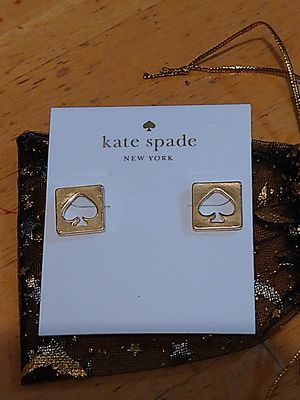 Gold Kate Spade Earrings NEW!!! for Sale in Punta Gorda, FL