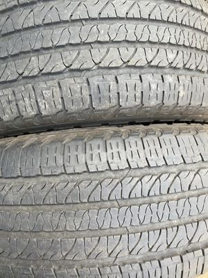 Two used tire 265/50R20 Goodyear two used tire $90 for Sale in Alexandria, VA