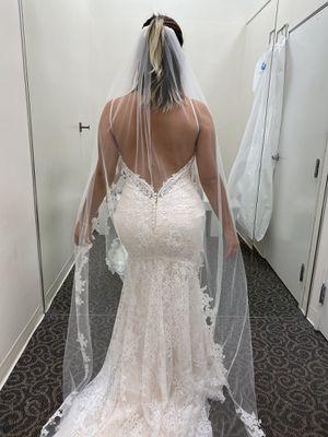 Wedding dress size 10 for Sale in Orlando, FL