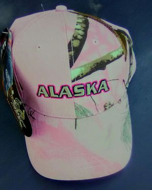 Hat, Realtree, Alaska, pink, camouflage / nature, one size, new! for Sale in Mesa, AZ