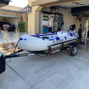 Sea Eagle SE9 & Suzuki 2.5 Motor for Sale in Phoenix, AZ