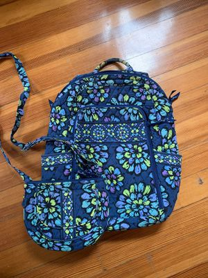 Vera Bradley purse and backpack for Sale in Boston, MA