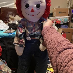 Vintage 24' Inch Raggedy Andy Doll for Sale in Magnolia, TX