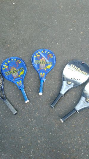 5 Tennis Rackets for Sale in Gresham, OR
