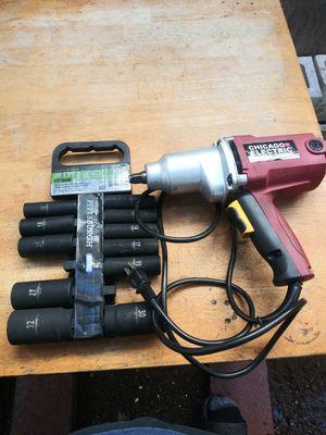 Power tool n socket set for Sale in Whittier, CA