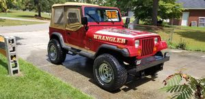 87 Jeep wrangler for Sale in Fayetteville, NC