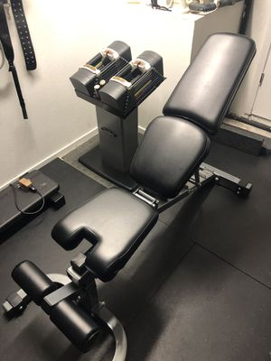 Dumbbells and weight bench for Sale in NEW PRT RCHY, FL