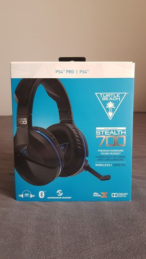 Turtle Beach Stealth 700 5.1 Wireless Headset for PlayStation 4 PS4 for Sale in San Antonio, TX
