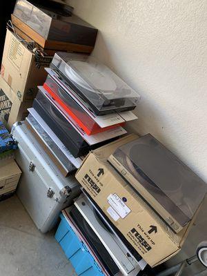 1Turntables ~ Record Player ~ Onkyo Denon Rega Sanyo Dual Music Hall Marantz for Sale in Chandler, AZ
