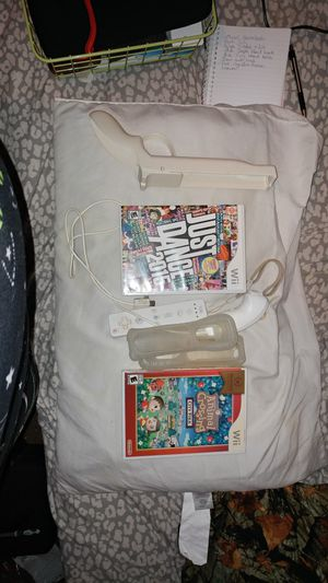 Wii with 2 Games for Sale in Glenville, WV
