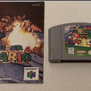 Super Mario 64 For Nintendo 64 for Sale in Schaumburg, IL
