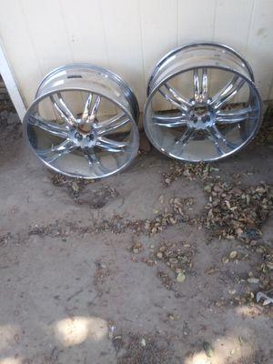 24 inch rims for Sale in Fresno, CA