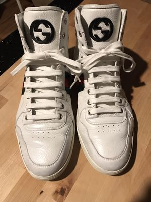 Gucci Ace High Top Sneakers Men size 8.5 fits to US9.5 for Sale in Deltona, FL