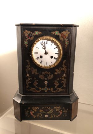 Early Antique French Boulle Clock for Sale in Los Angeles, CA