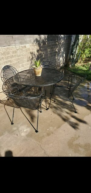 Vintage Patio Set Asking Price $170.00 OR Best Reasonable Offer! 😊 for Sale in Phoenix, AZ