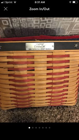 2001 collectors club Longaberger basket for Sale in Fontana, CA