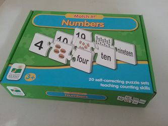 Numbers learning puzzle for Sale in Puyallup,  WA