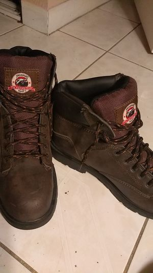 Work boots ,size 10 for Sale in Tampa, FL
