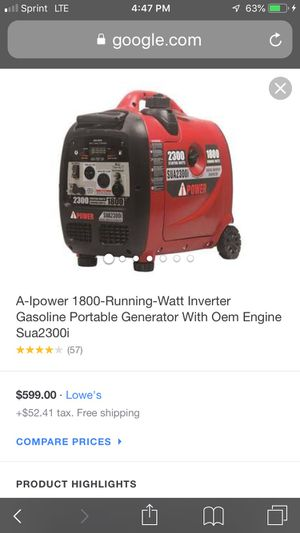 IPower generator for Sale in San Diego, CA