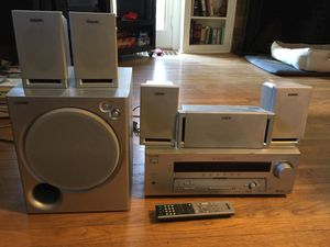 Sony 5.1 Dolby Digital Surround Sound Stereo System w/ receiver, subwoofer, speakers for Sale in Portland, OR