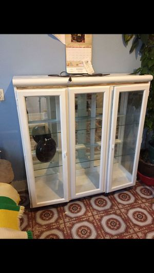 Glass display cabinet for Sale in Queens, NY