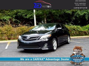 2012 Toyota Corolla for Sale in Raleigh, NC