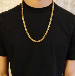 Mens 14K Gold-Plated Chain Necklace for Sale in Ontarioville, IL