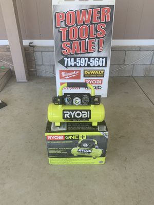 RYOBI 18-Volt ONE+ Cordless 1 Gal. Portable Air Compressor (Tool-Only) for Sale in Perris, CA