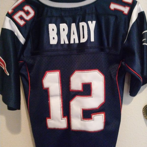 Brady Patriots Jersey Youth Medium