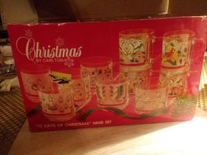 12 days of Christmas mug set for Sale in Dearborn, MI